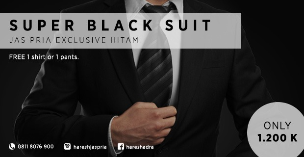 jas exclusive hitam
