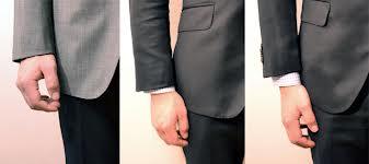 panjang lengan Jas Pria
